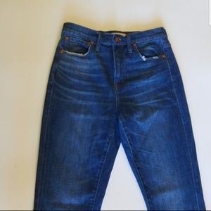 Madewell the high-Rise boyjeans size 25
